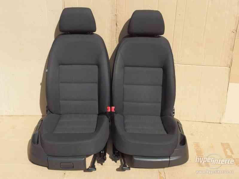 Sada sedaček Škoda Octavia II s airbagy a výhřevem - foto 1