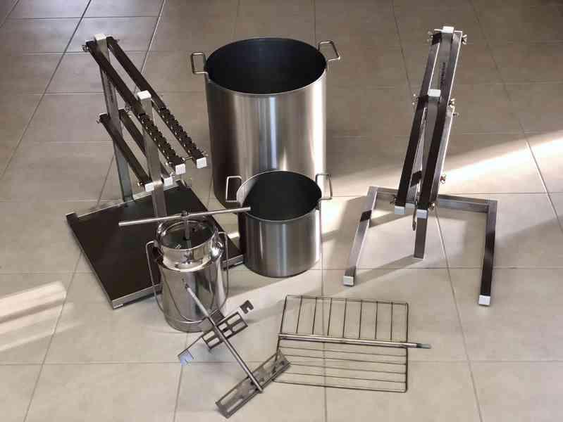 Nerezové vybavení pro mlékárny- sýrárny