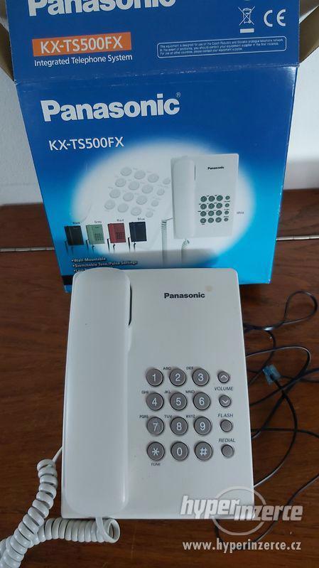 telefon tlačítkový Panasonic za 100,-