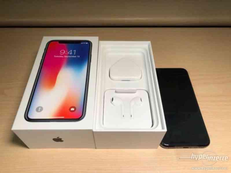 Apple iPhone X 64 GB - Černá