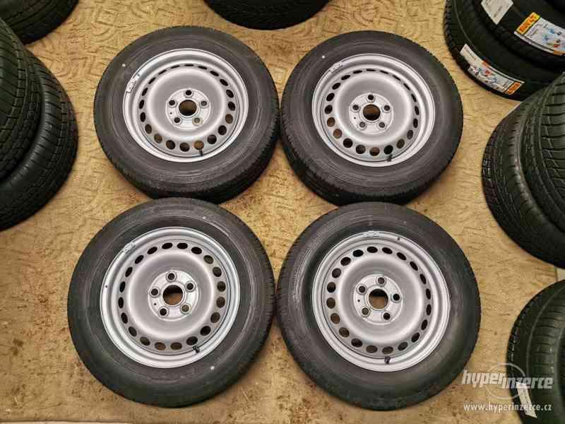 Disky s pneu 5x120 VW Transporter R16