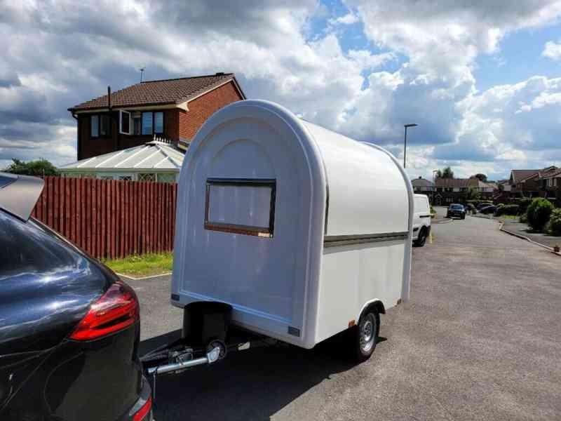 erzoda Food Trailer,Food Truck,Pojízdné občerstvení 230cm - foto 3