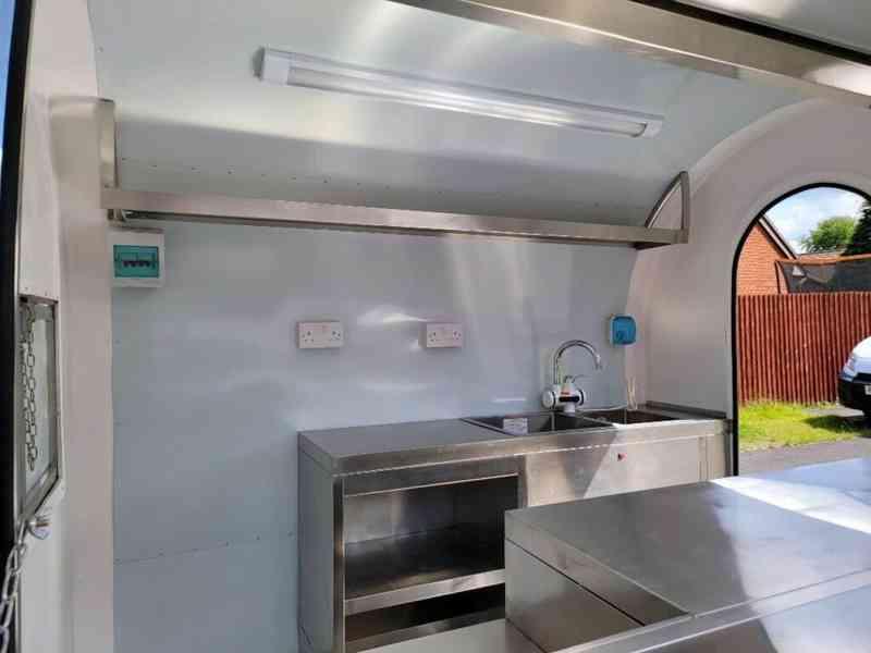 erzoda Food Trailer,Food Truck,Pojízdné občerstvení 230cm - foto 5