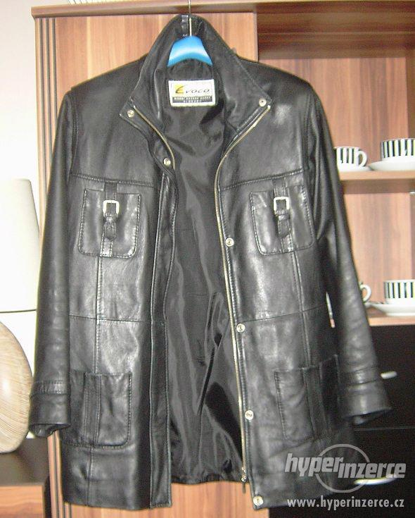 Kožený kabát Evoco vel. L - foto 1