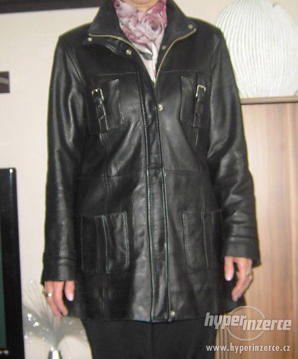Kožený kabát Evoco vel. L - foto 3