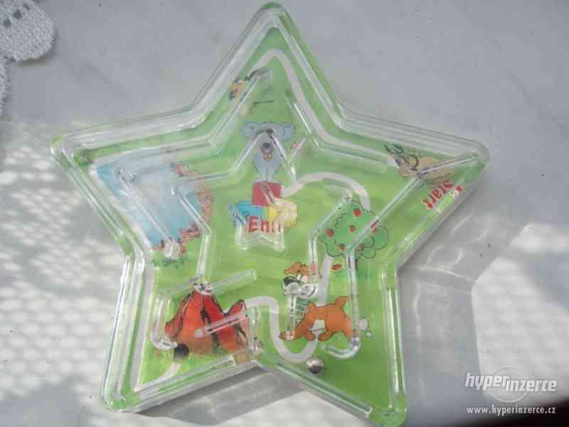 Deskové kuličkové hračky - starých 9 kousků - foto 7