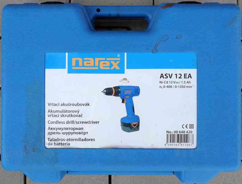 Akušroubovák NAREX ASV 12 EA