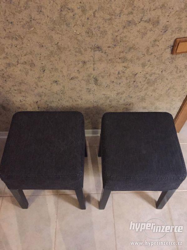Set NILS IKEA rámy stoliček+ potahy