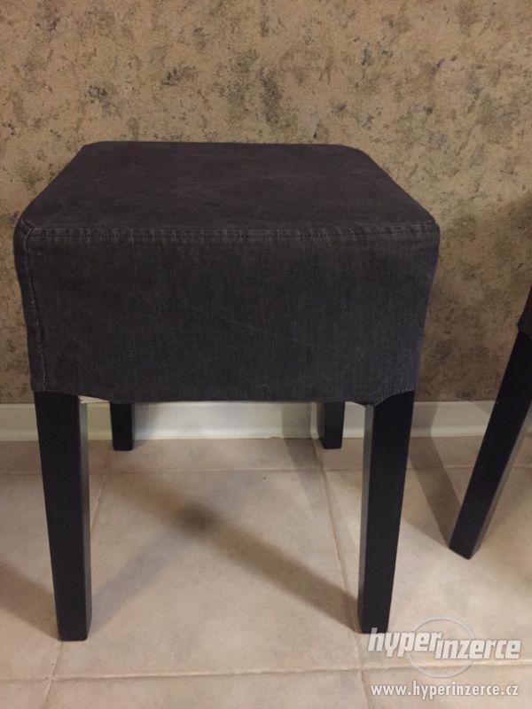 Set NILS IKEA rámy stoliček+ potahy - foto 2