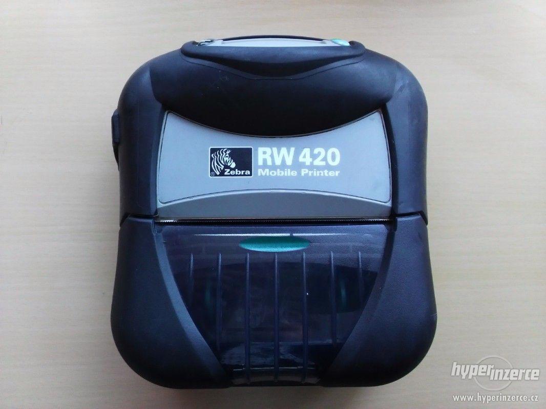 Termotiskárna Zebra RW420 - mobilní - foto 1