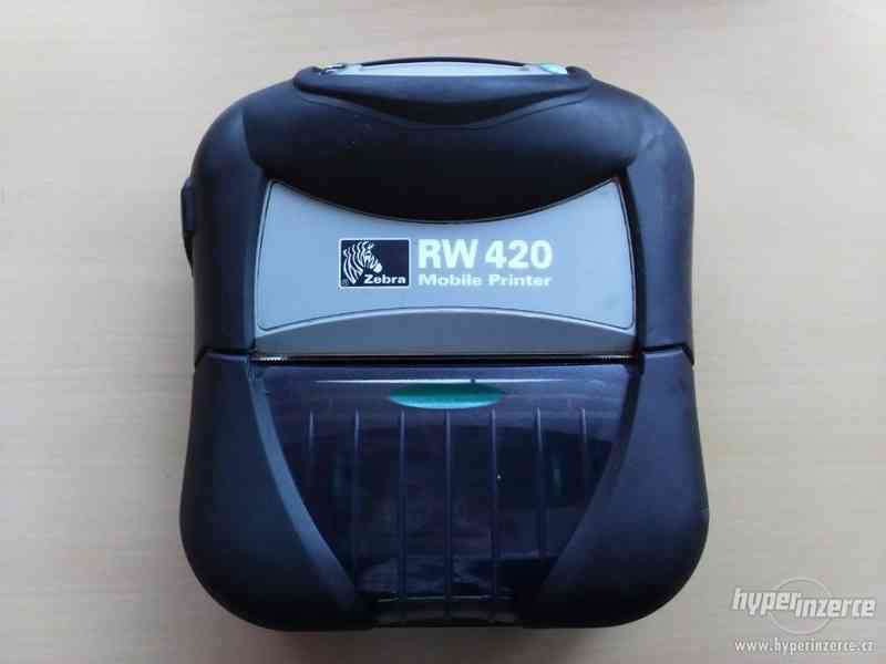 Termotiskárna Zebra RW420 - mobilní