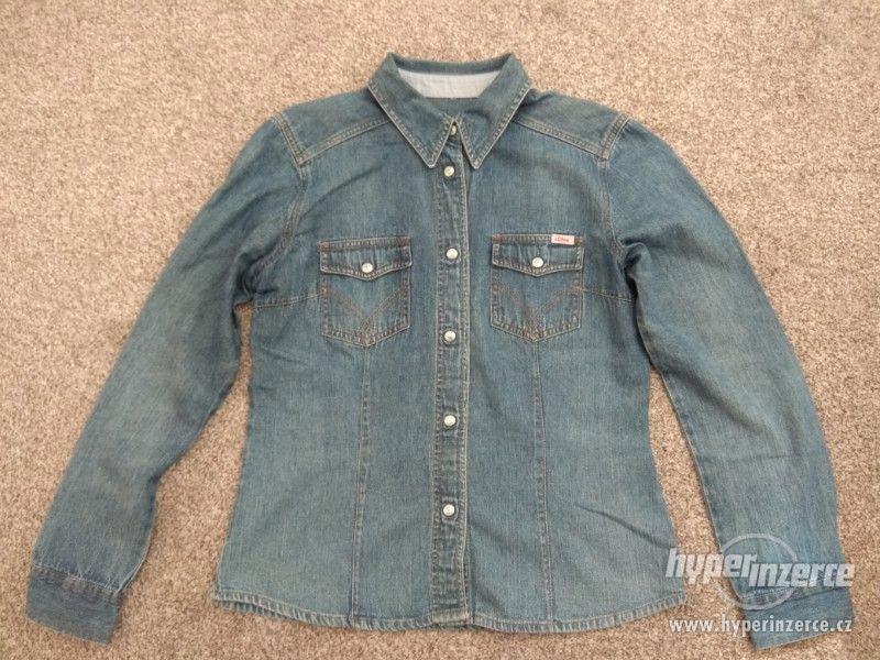 Nová dámská jeans košile s.Oliver - č. 40