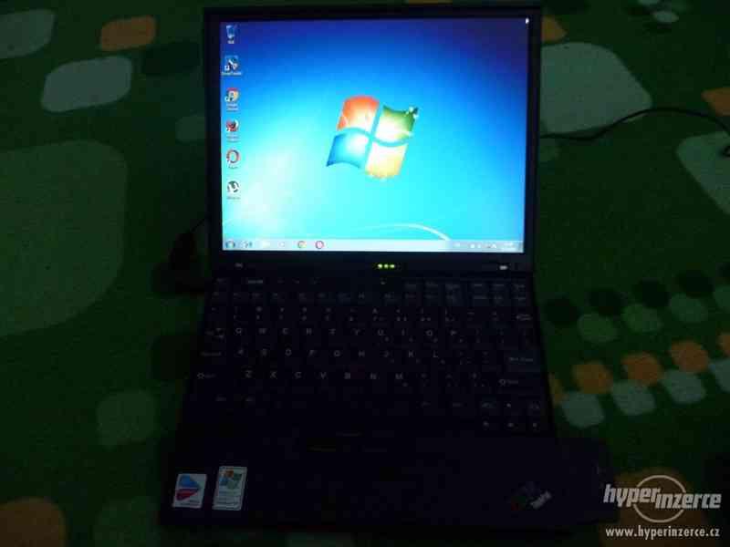Zachovalý Notebook IBM ThinkPad X40