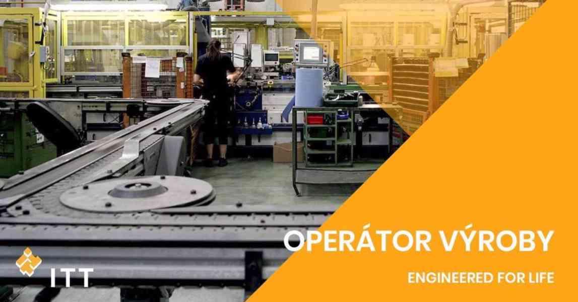 Operátor/ka výroby – nástup ihned