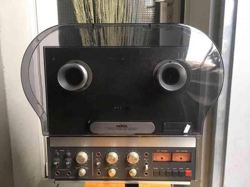 Prodám kotoučový magnetofon REVOX B 77