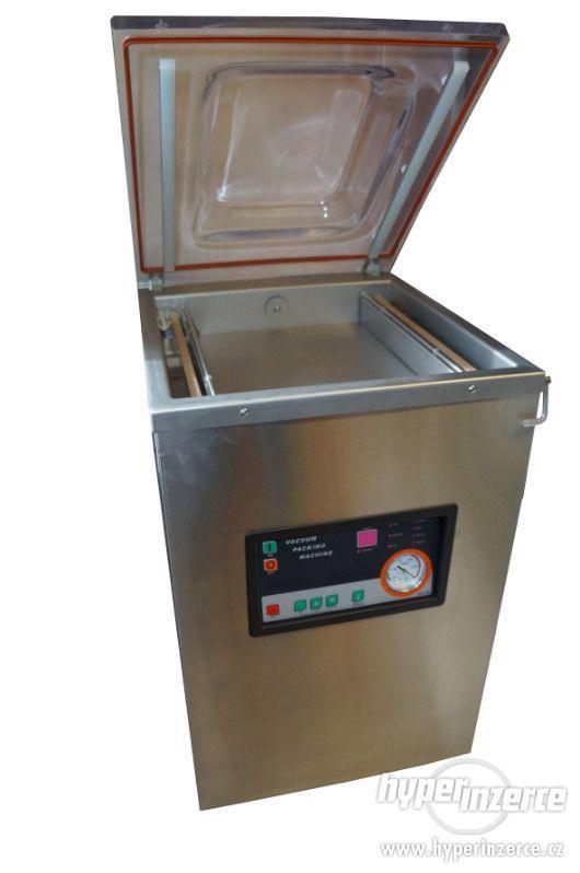 Vakuové balicí stroje Vakuová baličk DZ 400/2E pumpa 20 m3 - foto 2