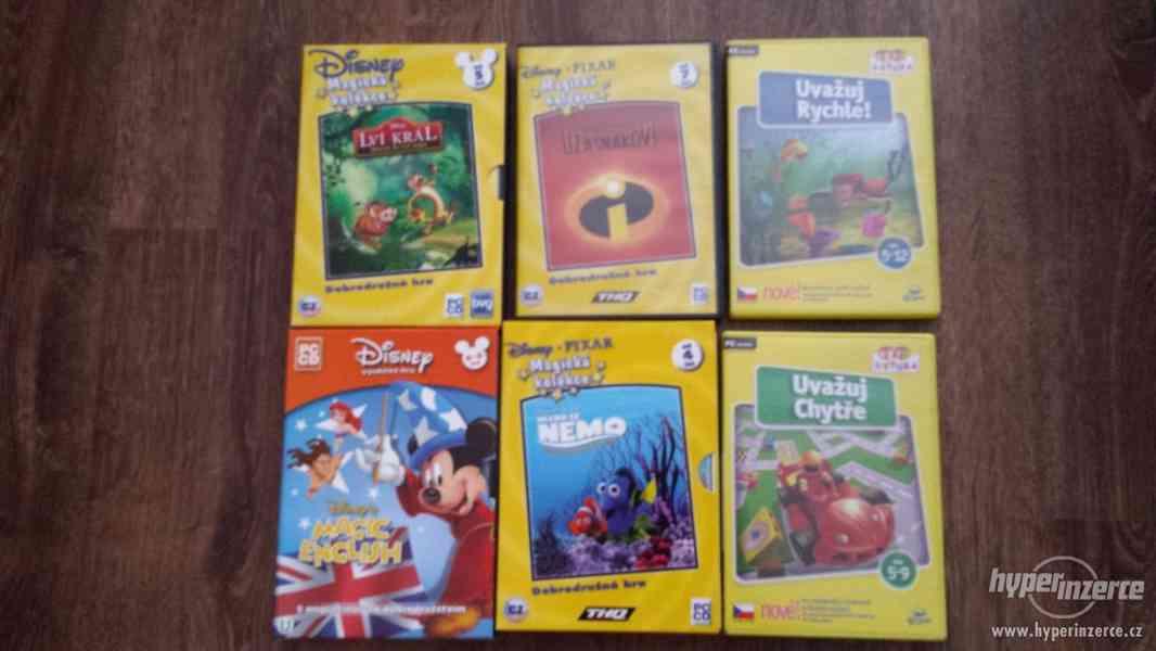 Prodám dětské hry - foto 1