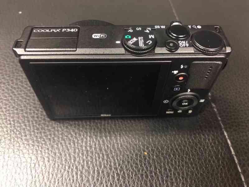 Nikon coolpix P340 Černá - V super stavu - foto 2
