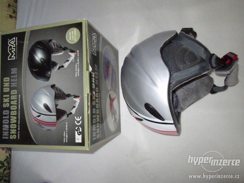 Lyžařská-snowboardová helma, MPO, vel.S (50-54cm) - foto 1