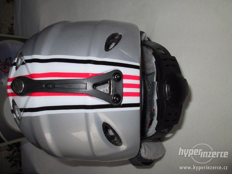 Lyžařská-snowboardová helma, MPO, vel.S (50-54cm) - foto 3