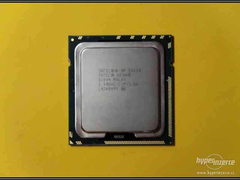 Intel Xeon Processor E5620, 2.40 GHz, SLBV4
