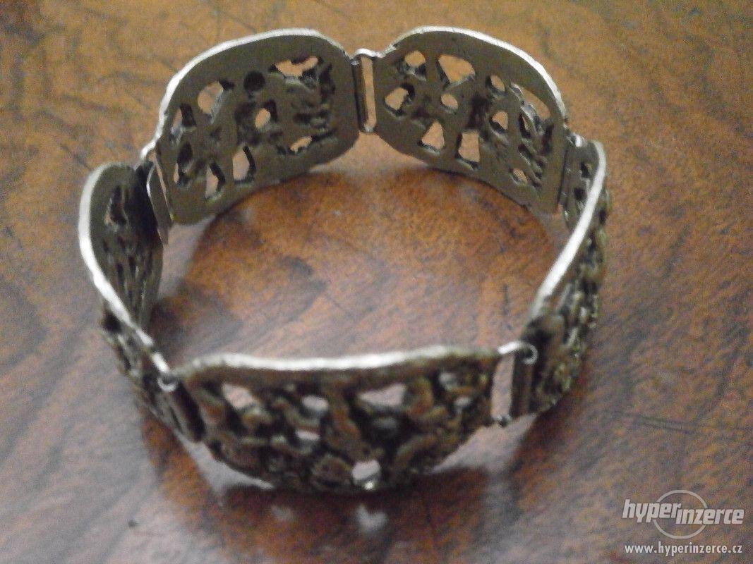 Sada stříbrných šperků - foto 1
