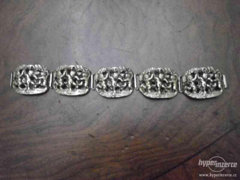 Sada stříbrných šperků - foto 2