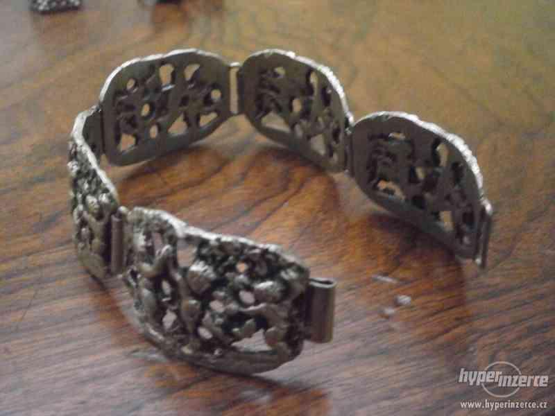Sada stříbrných šperků - foto 3