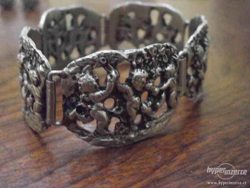 Sada stříbrných šperků - foto 4