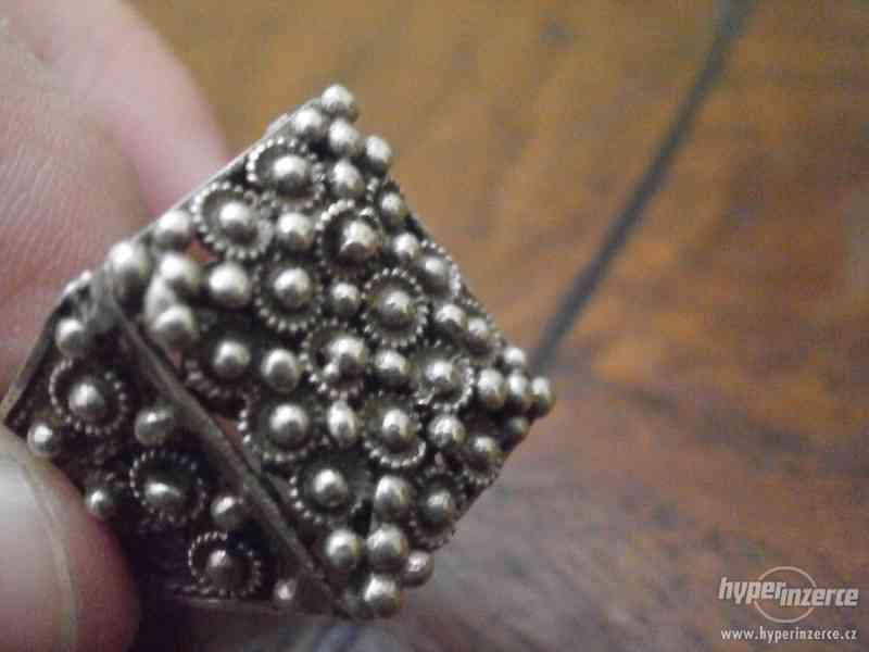 Sada stříbrných šperků - foto 5