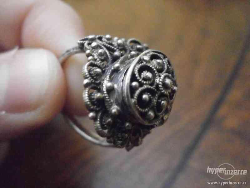Sada stříbrných šperků - foto 7