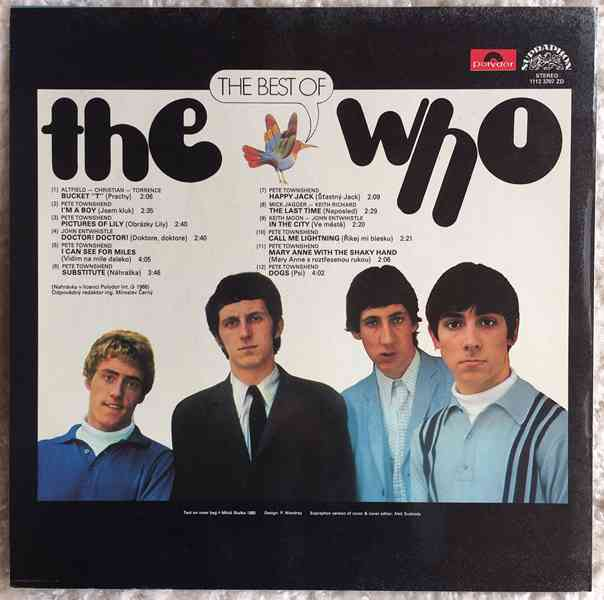 The Who - The Best Of The Who - 1985  - foto 2
