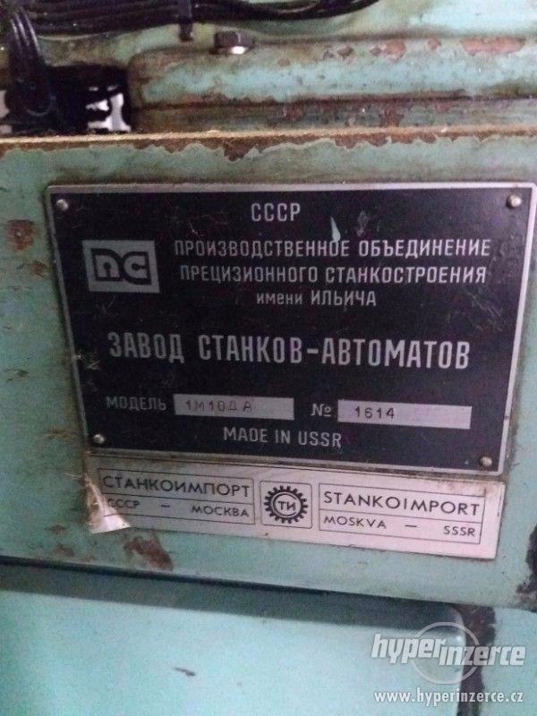 soustružnický automat STANKO 1M10DA - foto 3