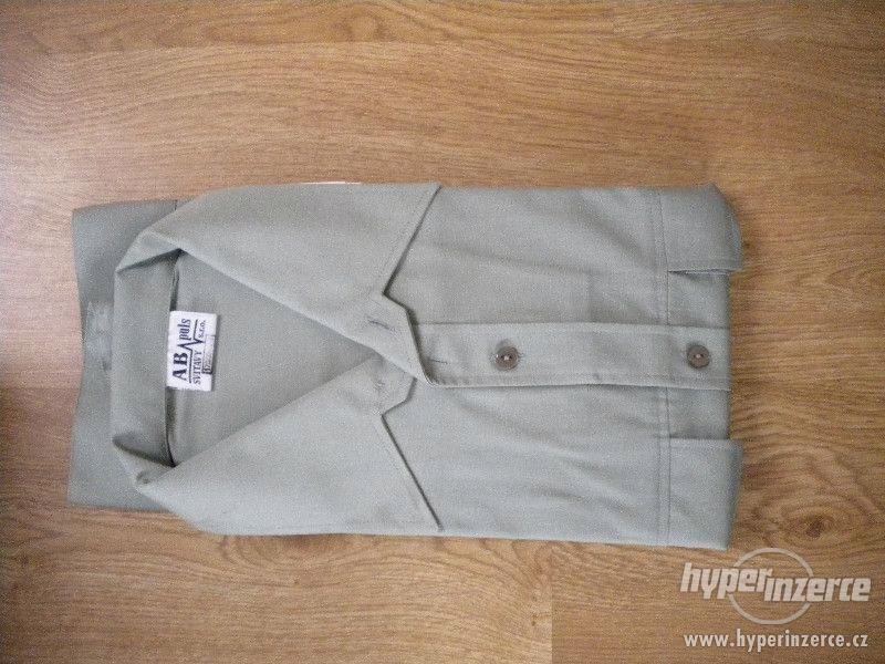 Košile vojenská 97, dlouhý rukáv, AČR