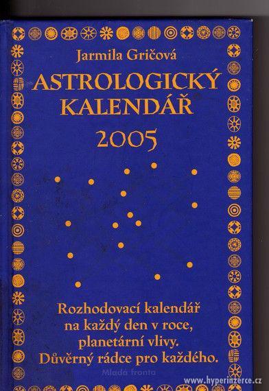 Astrologický kalendář 2005 Gričová Baudyš - - foto 1
