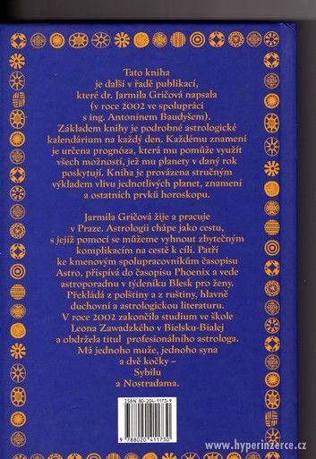 Astrologický kalendář 2005 Gričová Baudyš - - foto 2