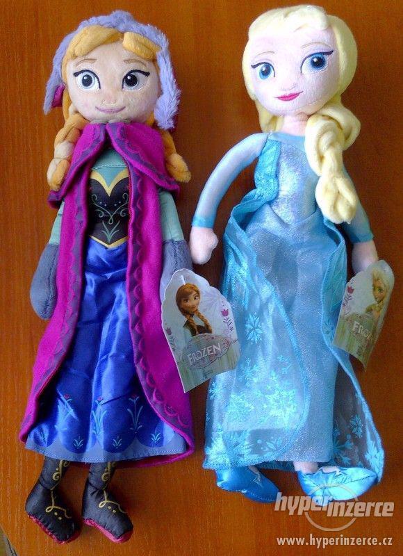 Plyšové panenky Elsa a Anna z Led.království(Frozen) - 40.cm