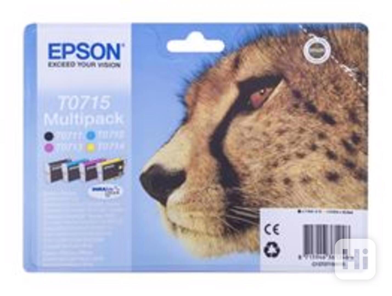 Tonery-Multi Pack Epson T0715 - 3x čern, azur, purpu, žluta - foto 1