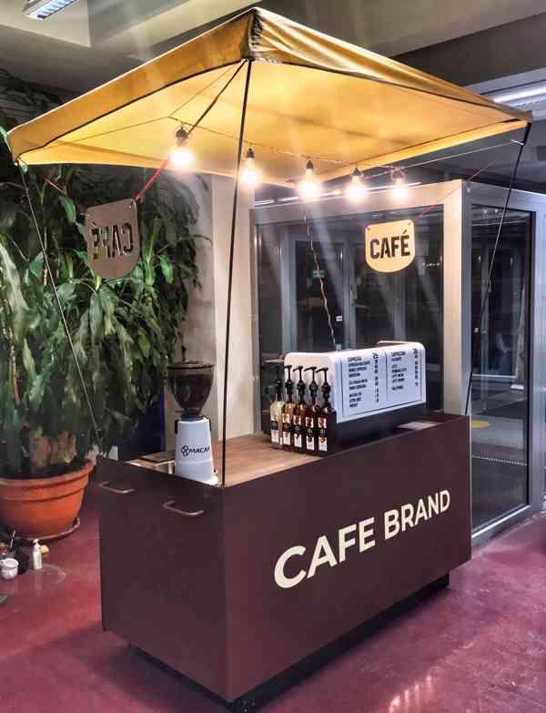 Pojízdná kavárna - kafe stánek