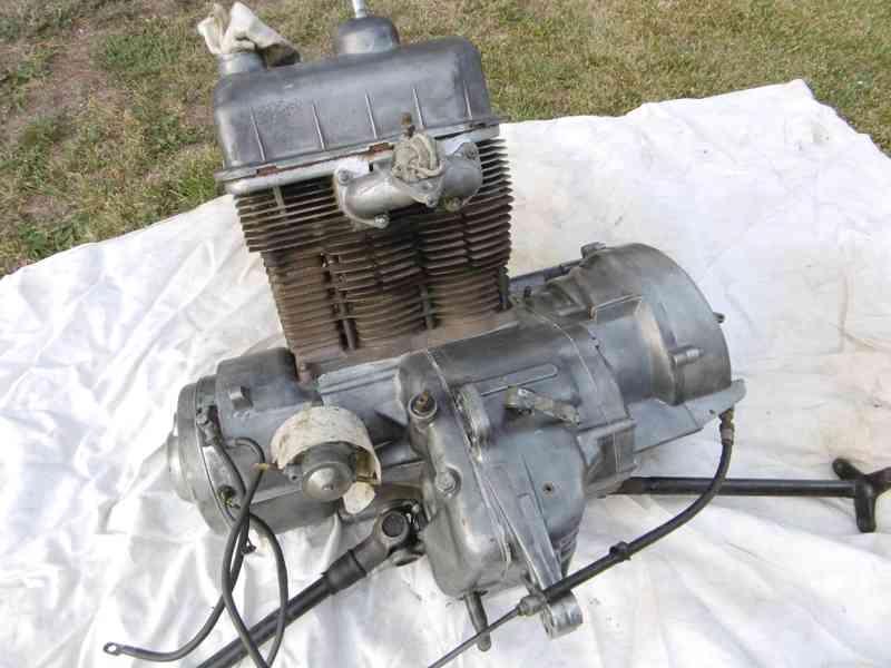 motor NSU 600 rok 1957 - foto 1