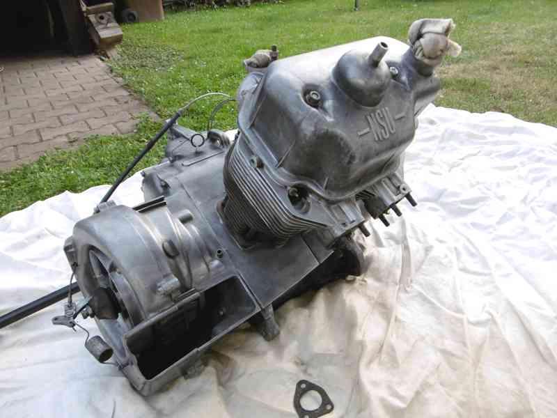 motor NSU 600 rok 1957 - foto 2