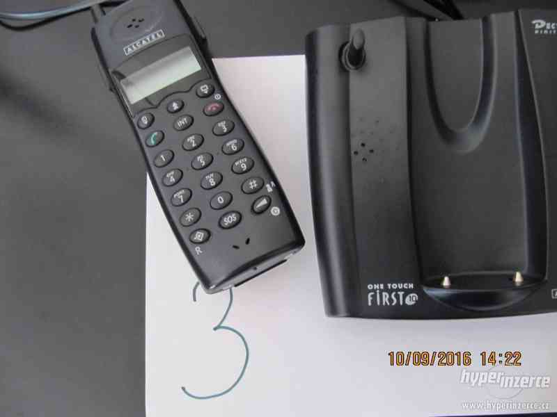Telefon bezdrátový ALCATEL-pro sběratele-dědictví - foto 2
