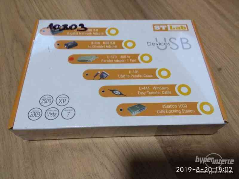 adaptér USB na PARALEL_NOVÉ zabalené - foto 3
