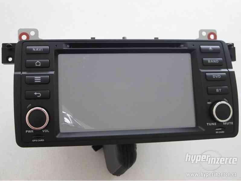BMW 3 5 X5 7 - Dotykove Autoradio + GPS NAVI DVD BT SD USB