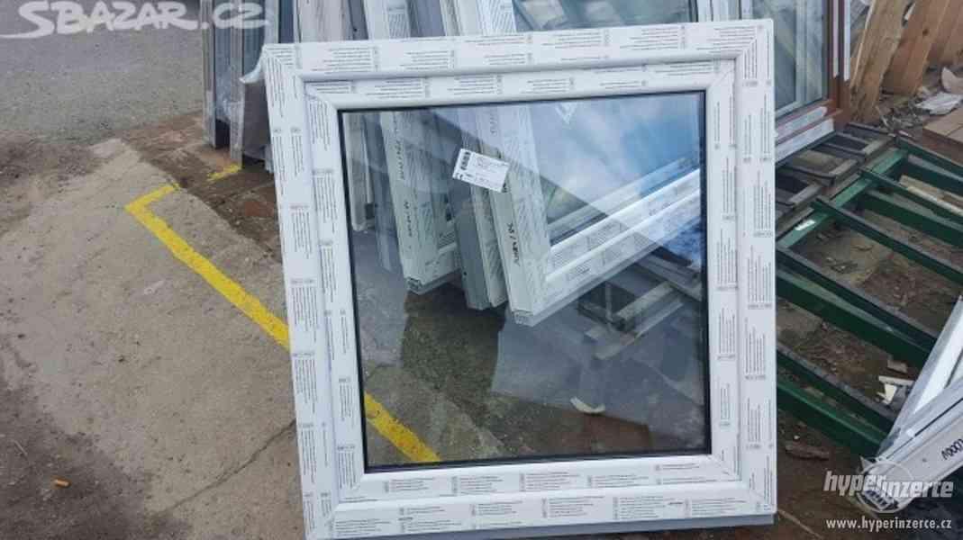 Plastové okno 90x90 - nové