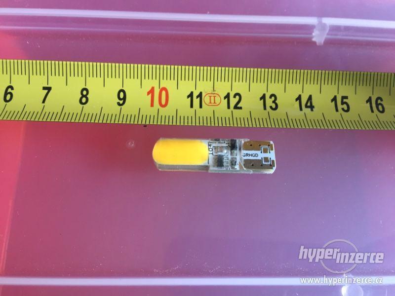 LED T10–oranžová - foto 4