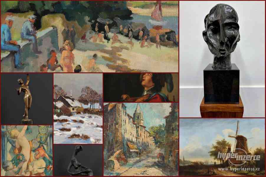 77. aukce obrazů online