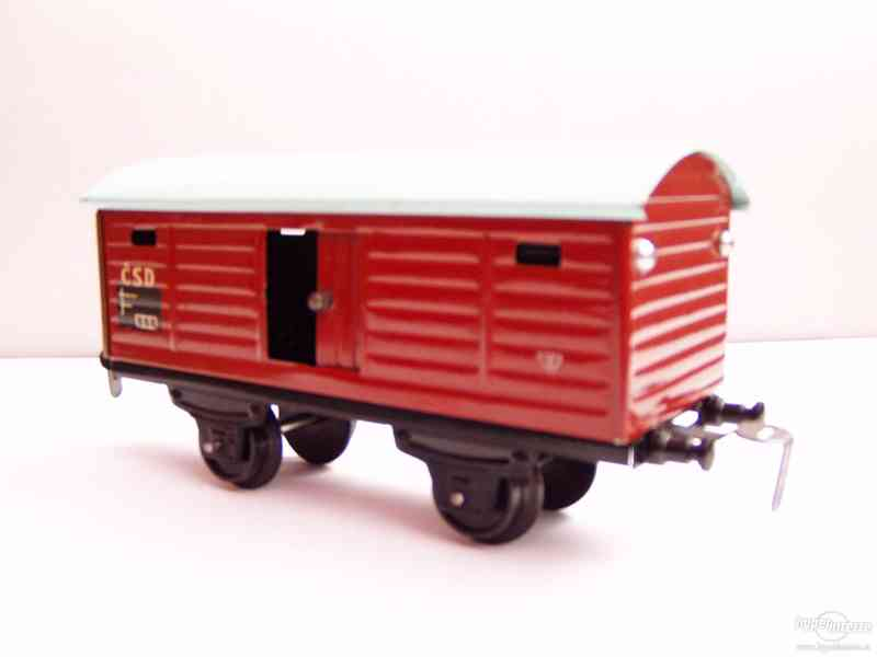 Plechový vagónek  -  MERKUR - foto 1