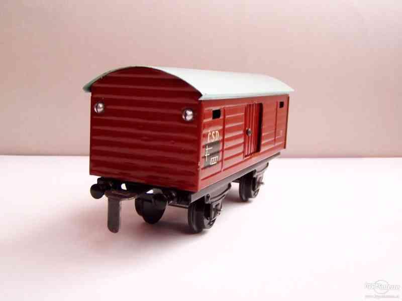 Plechový vagónek  -  MERKUR - foto 2