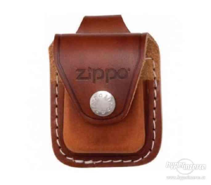 Zippo zapalovače, benzin náplně, kožená pouzdra - foto 11